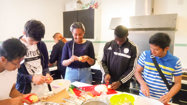 Eat Club - YOUTH WORK – Making a sustainable difference to the future of the young people.
