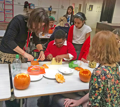 It's Pumpkin Rescue week with Hubbub and North London Waste Authority