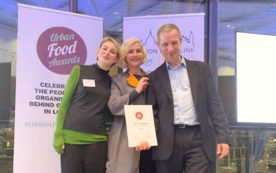 Urban Food Awards 2019 – VegCities Champion Category