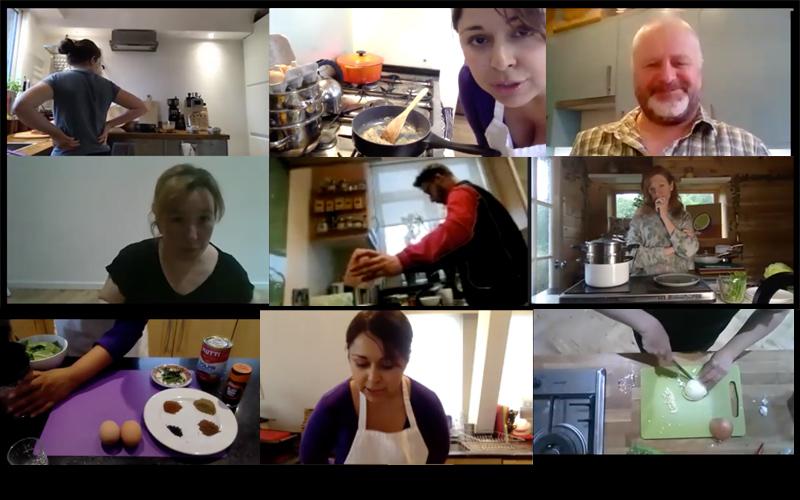 Eat Club Virtual cooking trial